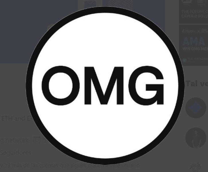 Logo OMG. Imagen extraída de Twitter