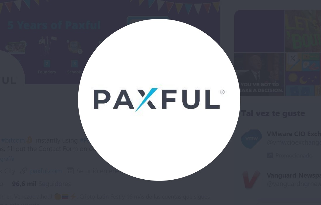Paxful Twitter