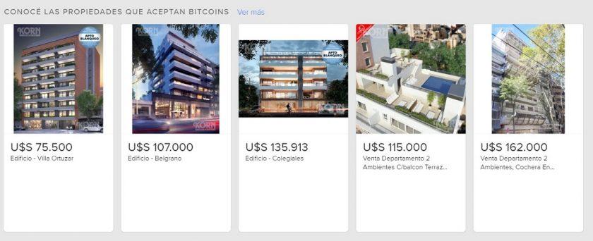 Mercado Libre Argentina pago Bitcoin inmuebles (2)