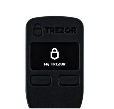 Trezor model One. Imagen de la página oficial de Trezor