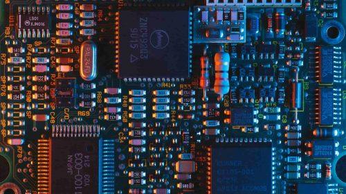 Bitmain componentes chips unsplash