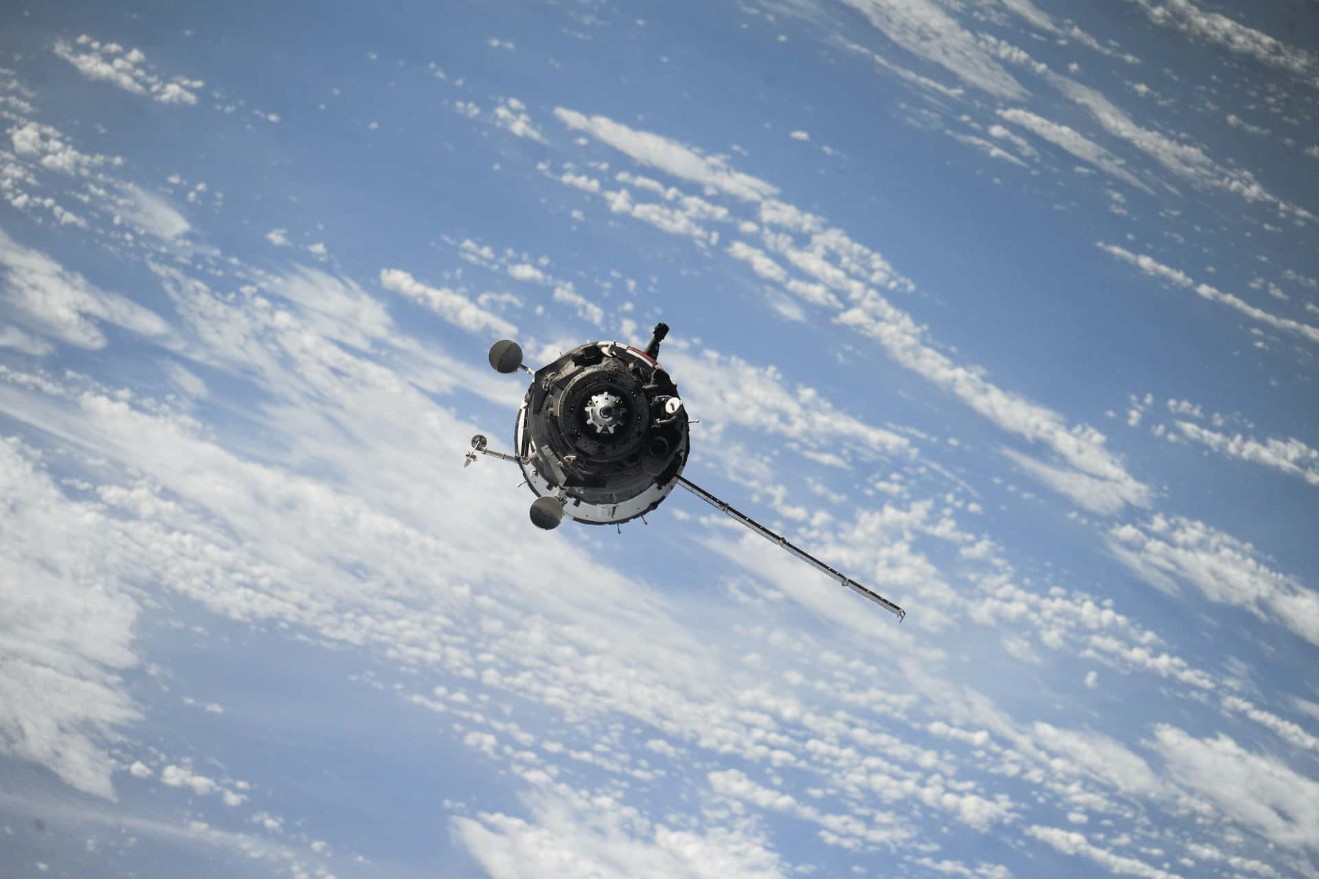 Blockstream satelite Unsplash espacio