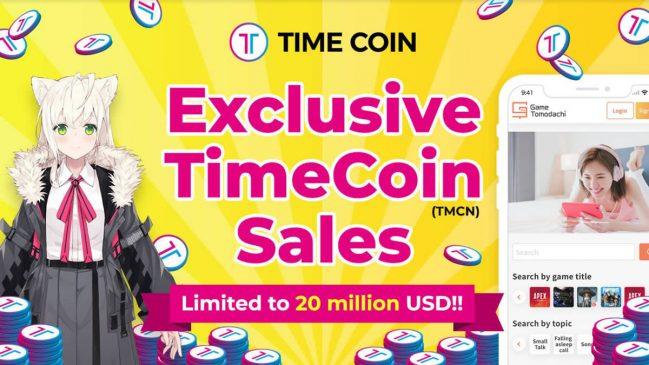 Oportunidad de venta exclusiva de TimeCoin - Limitado a 20 millones de dólares