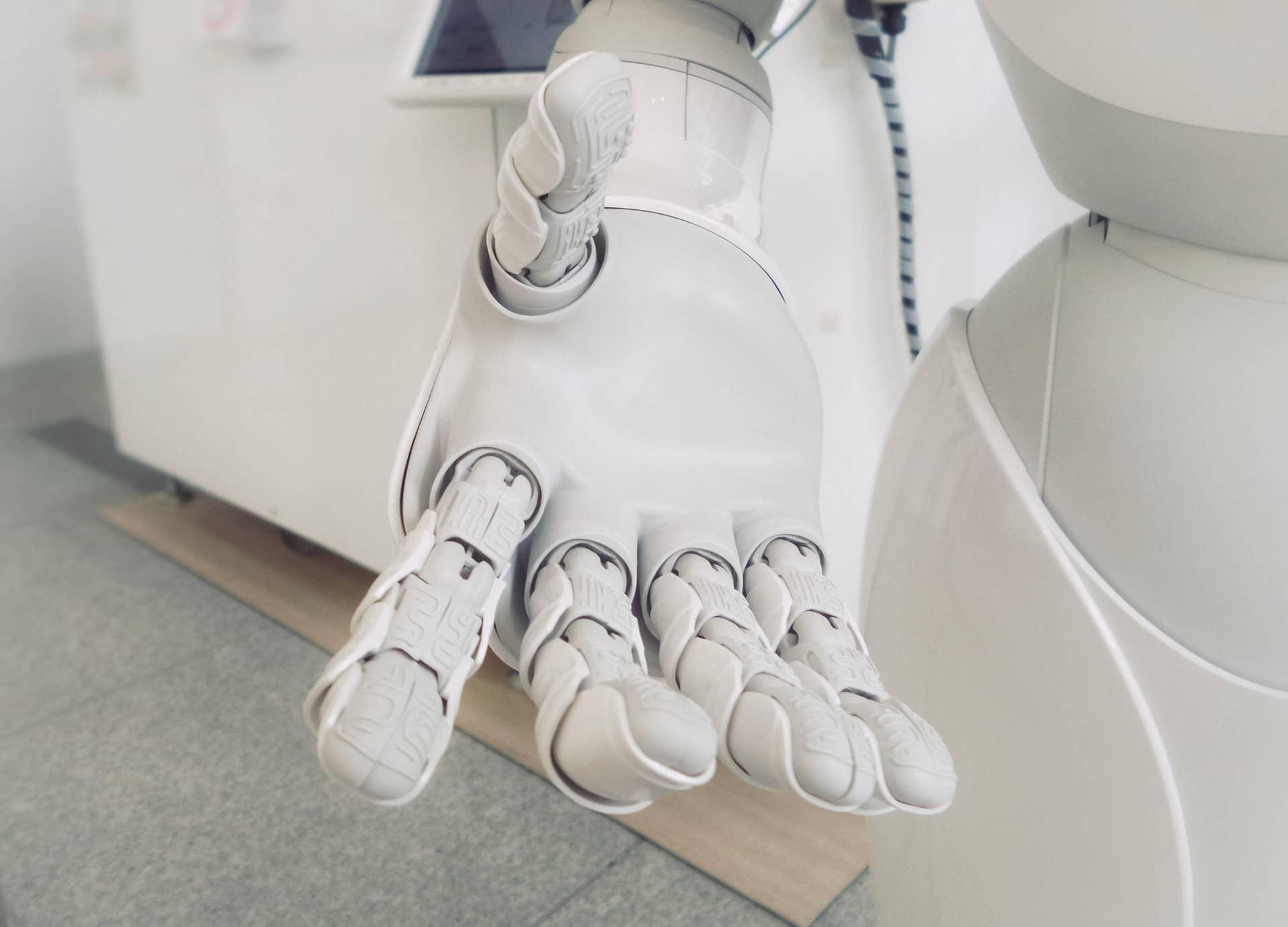 Robot IA Blockchain Unsplash